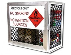 Aeroso storage cage - 144 cans