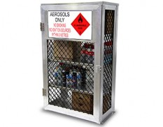 Aerosol can storage cage - 288 cans