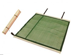 Reusable oil and fuel anti-static spill mat