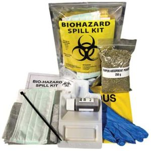 Spill kits - lab and healthcare
