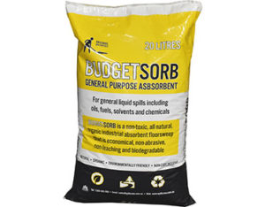 Budgetsorb floorsweep absorbent 20L