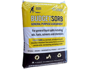 Absorbent floor sweep