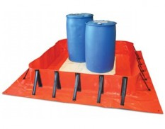 Collapsible spill bund SD