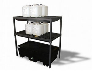 Bund rack - two drum bund