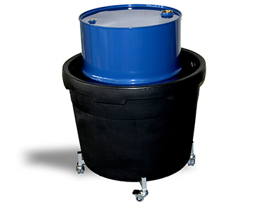 Single Drum Bund For One 205l Drum Global Spill Control