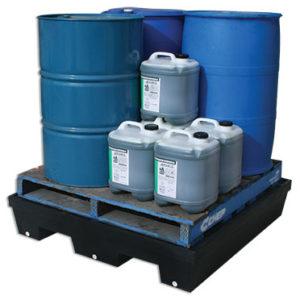 Drum bunds and spill pallets