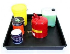 One metre square spill tray - 100L