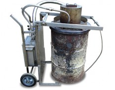 Vortex inferno high temperature waste incinerator