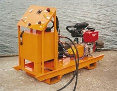 Diesel driven hydraulic power pack