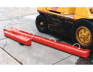 Urethane sand filled barriers