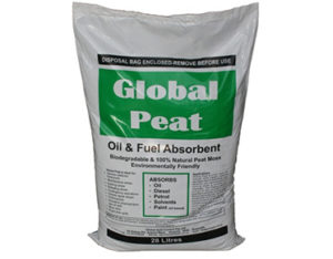 Global Peat oil and fuel only absorbent 28L