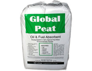 Global Peat oil and fuel only absorbent 50L