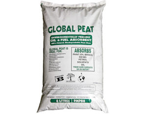 Global Peat oil and fuel absorbent 8L