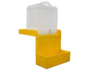 Shelf drip tray