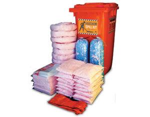 Hazchem spill kit 375 litre absorbent capacity