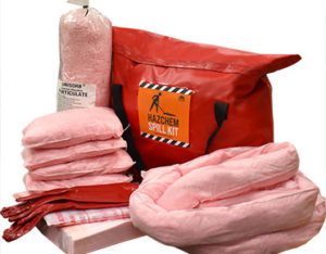 Chemical spill kits truck 131 litre absorbent capacity