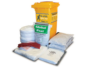 Spill kit oil and fuel outdoor high performance 180L