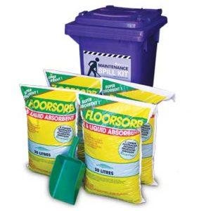Spill kits - maintenance
