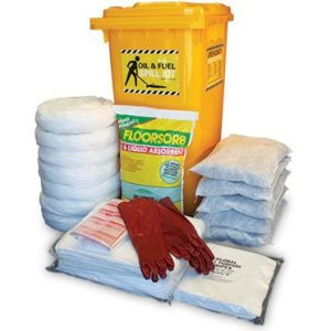 Spill kits - oil and fuel indoor