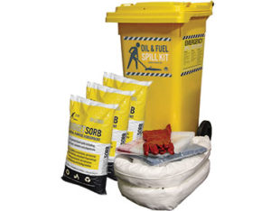 Budget oil and fuel spill kit