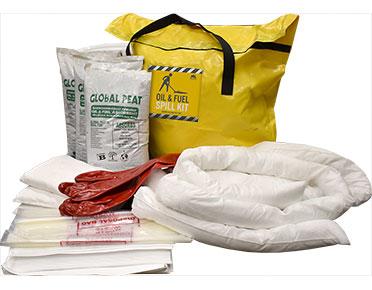 Oil Spill Kit For Trucks Portable Bag Kit 95 Litres