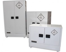 Safety cabinets - toxic substances