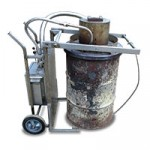 Vortex Inferno industrial waste burner with drum