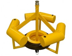 Weir pit skimmer with top suction mechanism