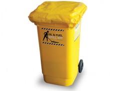 Wheelie bin protective covers