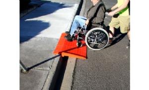 portable pedestrian kerb ramp