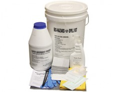 Biohazard spill kit 20L