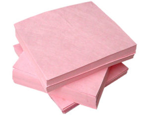 Chemical sorbent pads 45cm x 45cm