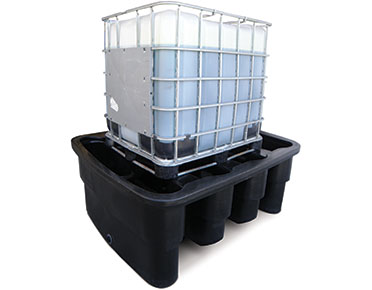 IBC bunded spill containment pallet