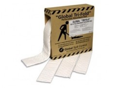 Oil and fuel absobent pads - extra heavy duty perforated on roll