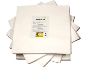 Oil absorbing pads - standard duty
