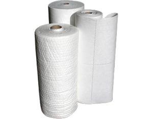Hydrocarbon sorbent rolls standard duty 40m x 90cm