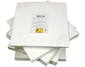 Oil & fuel absorbent pads and mats