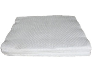 Lint-free absorbent mat for oil extra heavy duty