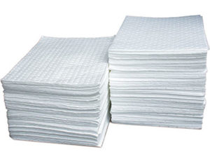 Lint free absorbent pads standard duty