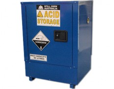 Corrosive substances safety storage cabinet 50L