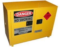Flammable liquids safety storage cabinet 100L