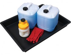 Spill and drip tray medium