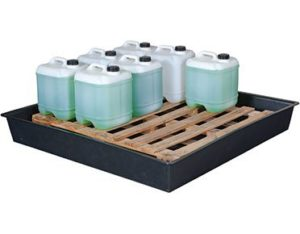 Spill and drip tray extra large with pallet