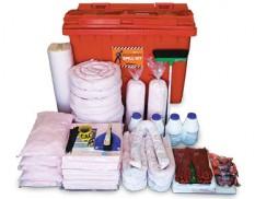 Hazchem spill kit 795 litre absorbent capacity