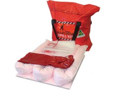 Chemical spill response kit eco truck 35 litre absorbent capacity