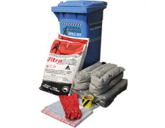 Universal spill kit with Ultrasorb 130L