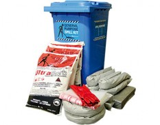 Universal spill kit with Ultrasorb 247L