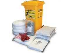 Oil spill response kit 175 litre absorbent capacity