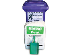 Maintenance spill kit Global peat 100L absorbent capacity
