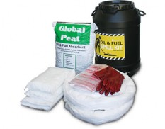 Spill kit - oil and fuel barrel 75L